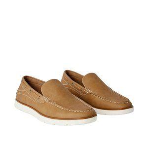 George Men's Tan Sean Boat Shoes, 9 US, 42 EU